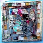 Mosaic brooch