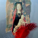 Greetings card - Madonna Series